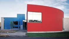 Raisio library auditorium